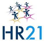 Logo van het HR21 functiewaarderingssysteem van de VNG